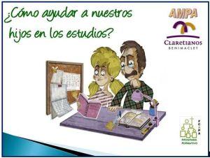 Charla organizada por Ampa Claret Valencia