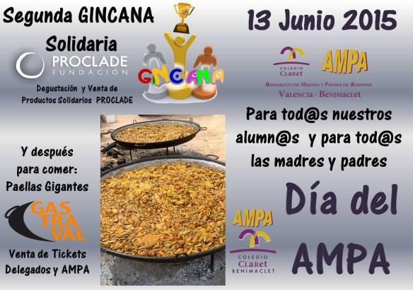 Cartel Dia del AMPA 2015